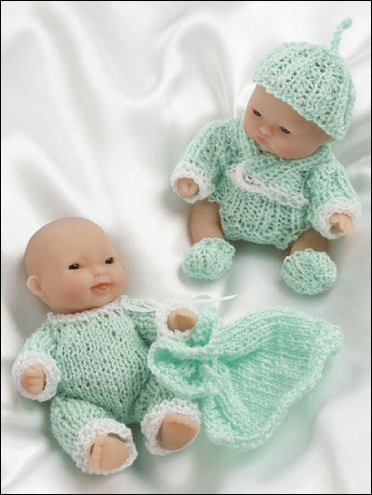 Itty Bitty Knitties Adorables Tenues Fr 5 \