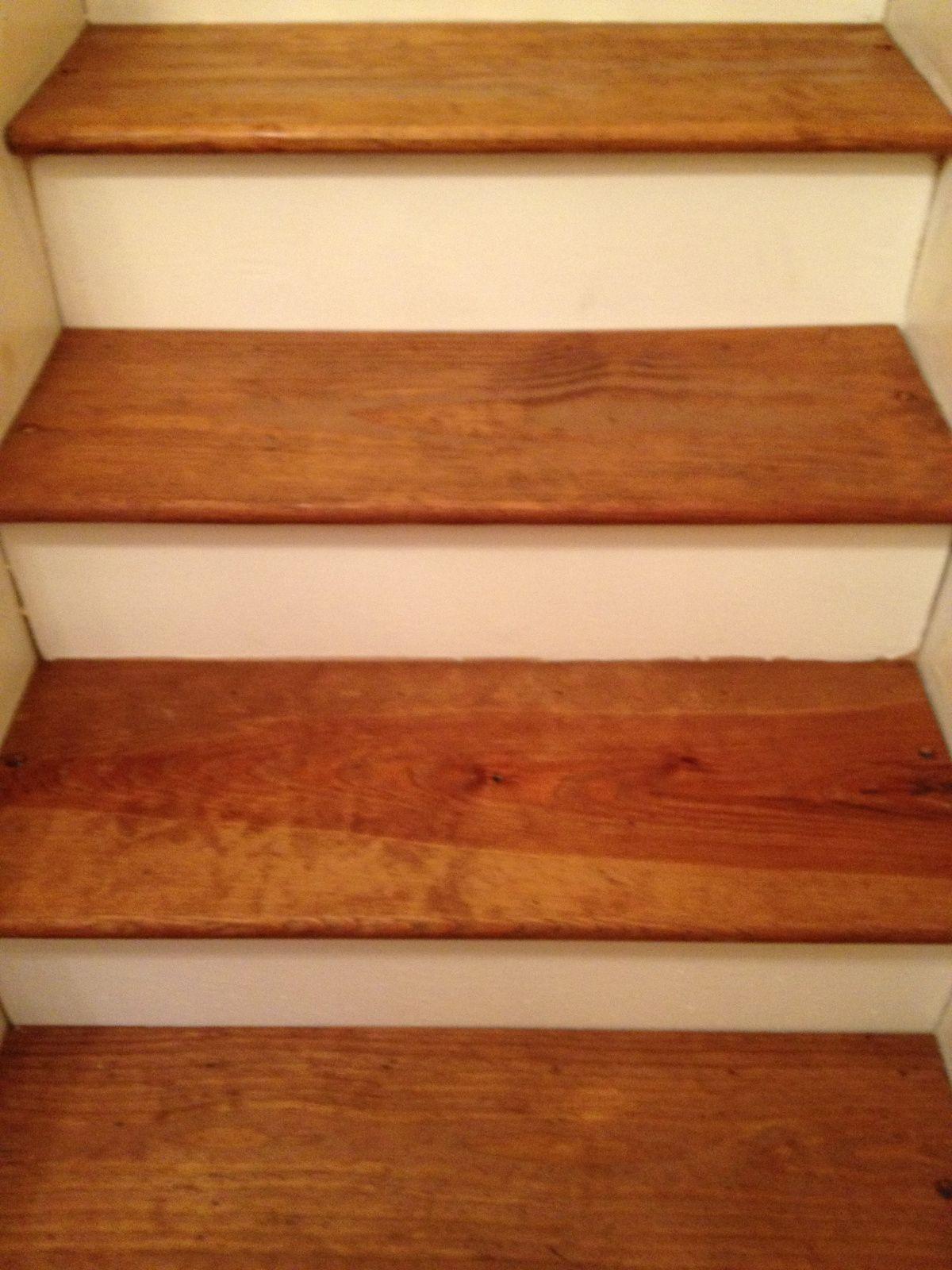Diy Pine Stair Treads Remodel Pine Stair Treads Stair Treads   Oak Stair Tread Caps   Scraped Oak   Red Oak   Vinyl Plank Flooring   Pergo Outlast   Sp125 4F048C