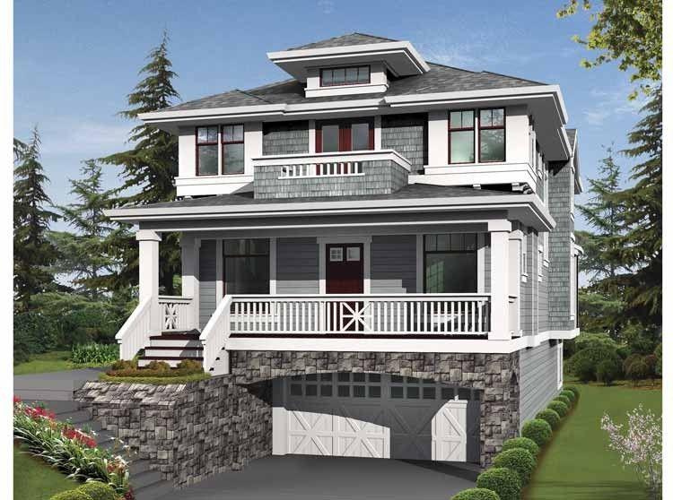 Prairie Style House Plan 4 Beds 3 5 Baths 3506 Sq Ft Plan 132