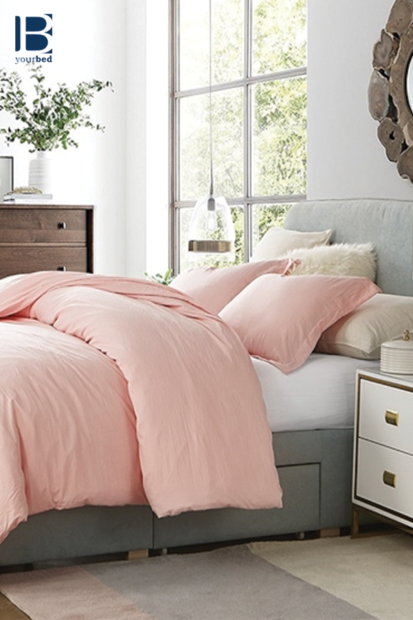 Beautiful Pink Natural Loft Twin XL, Queen, or King