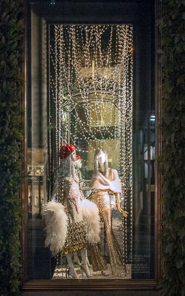Deco Noel Vitrine Magasin Visual Merchandising Window Display Ideas From America Usa