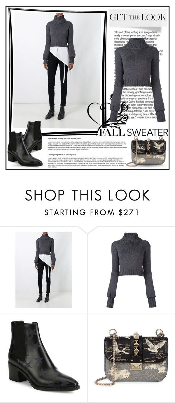 """#fallsweaters"" by gasteovska-t ❤ liked on Polyvore featuring IO Ivana Omazić and Valentino"