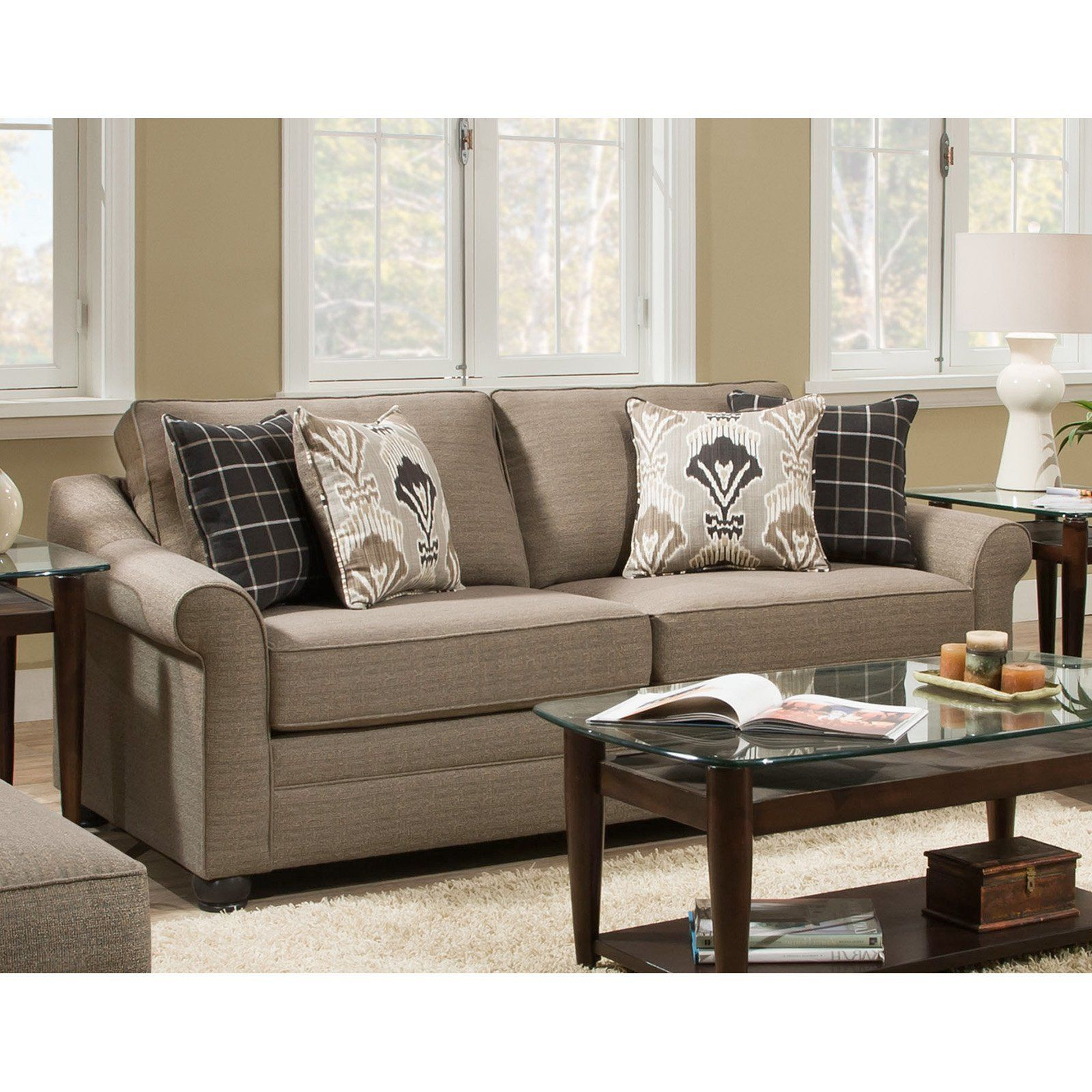 United Furniture Seguin Driftwood Sofa 1610 03 SEGUIN DRIFTWOOD