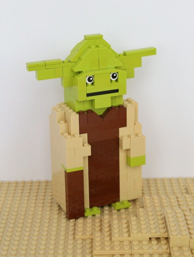 Lego Star Wars Yoda Building Instructions D I Y Pinterest Lego