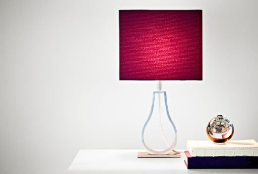 Ikea Lighting Table Lamp Modern, Ikea Red Table Lamps