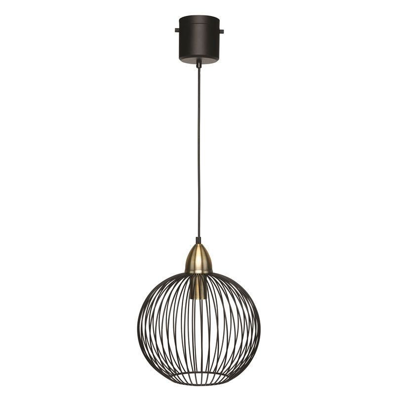 Brilliant Matt Black Nicola Diy Plug In Cage Pendant Bunnings Warehouse Cage Pendant Types Of Lighting Pendant Light