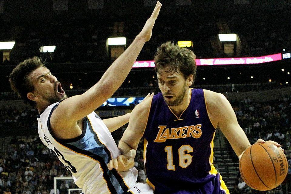 Duelo 'Gasol' en la jornada de la NBA (14/03/2012)