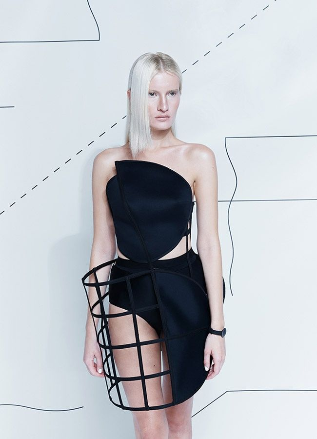 Download It And Wear It Formula 15 By Chromat Fashion Innovative Fashion Geometric Fashion