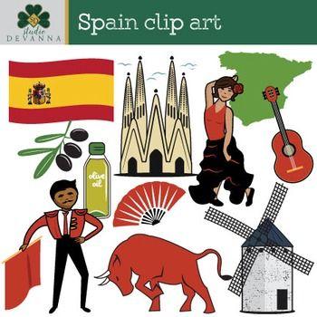 Spain Clip Art Clip Art Spain Spain Culture