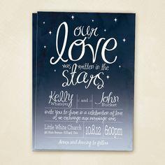 In The Stars Wedding Invitation Printable 20 00 Via Etsy