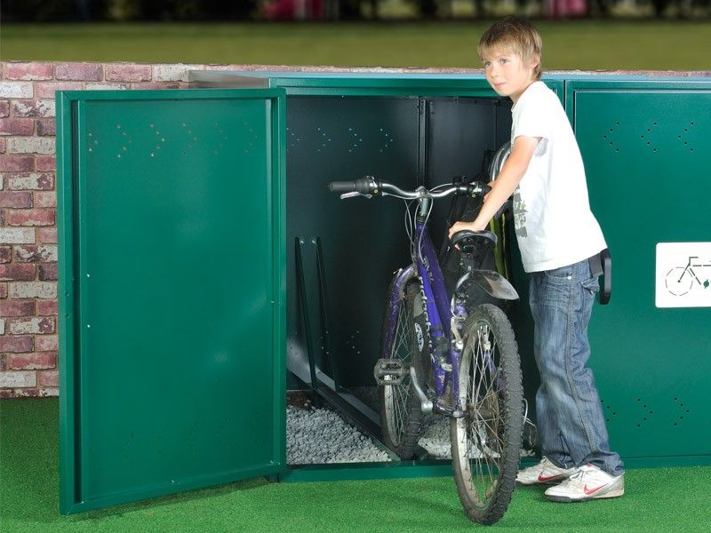 Single Bike Locker For 1 Bike Met Afbeeldingen