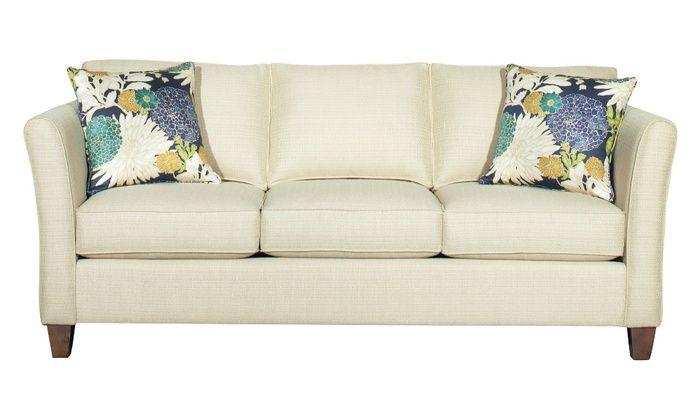 Bassett Furniture Turner Love Seat Sofa Queen Sleeper Sofa Or