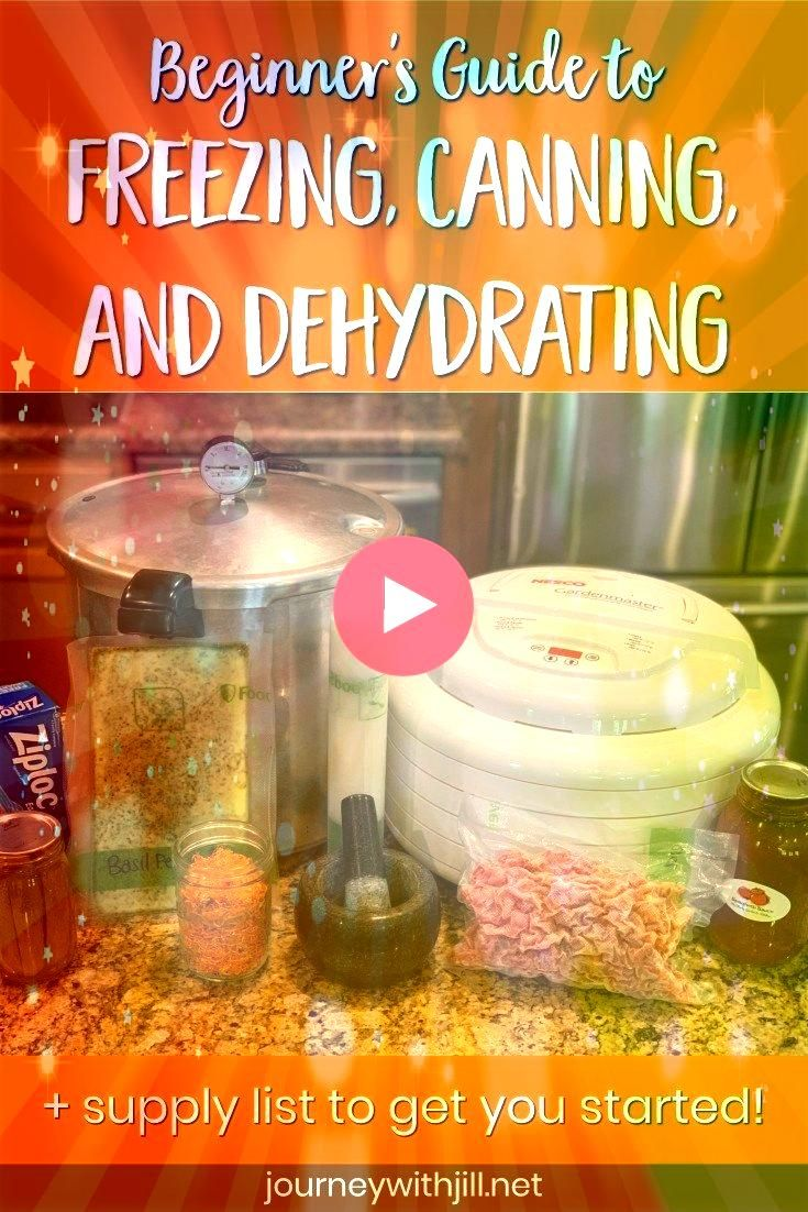 ready to preserve your garden harvest Whether you want to freeze your vegetables jump into canning or dehydrate herbs this beginners guide to preserving the harvest will...