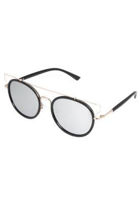 Óculos Solares DAFITI ACCESSORIES Espelhado Preto, com armação fechada de  15cm de largura frontal  c896afeb1e
