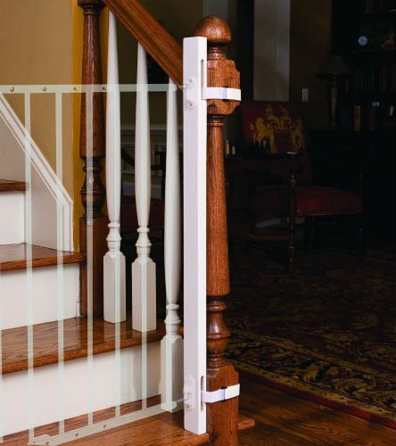 Ez Fit Safety Gate Adapter Kit For Protecting Stair Banisters