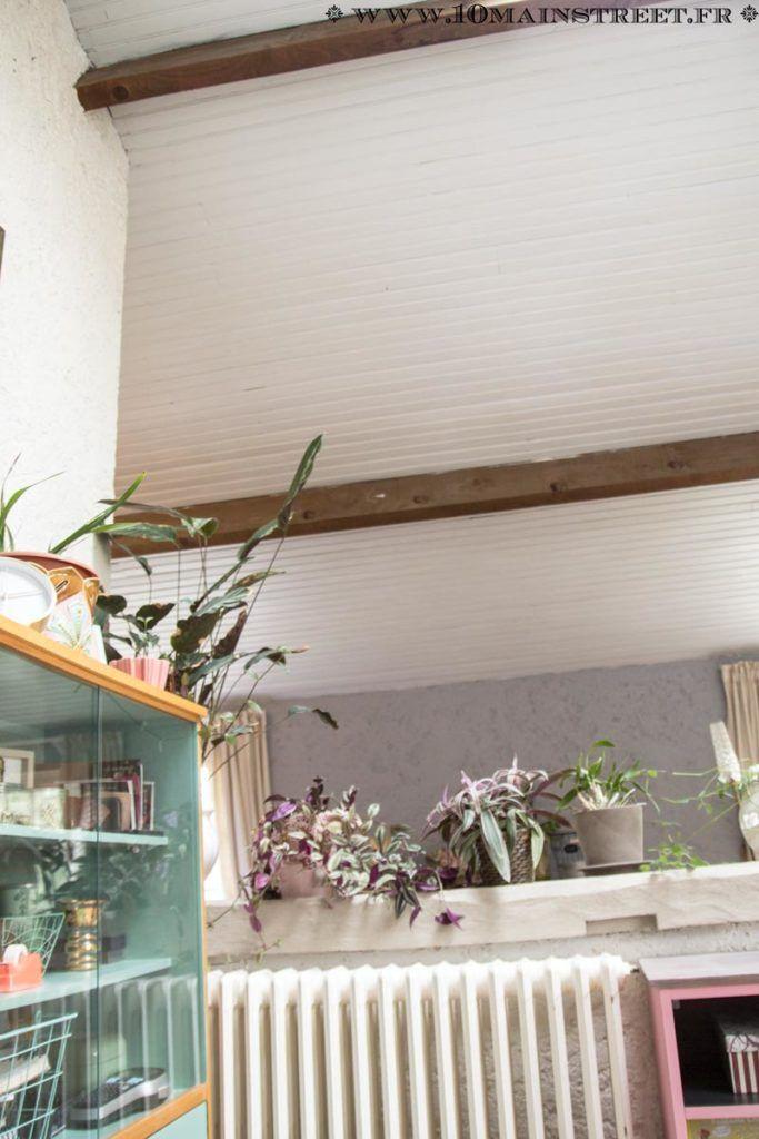 Peindre un plafond en lambris en un week-end et transfigurer une