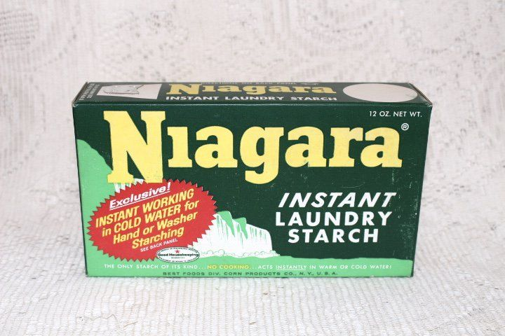 Niagara Instant Laundry Starch Sold Vintage Collection