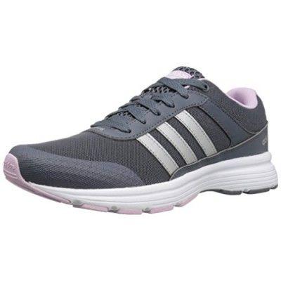 Adidas neo  mujer 's cloudfoam vs ciudad W corriendo zapatos , onix / Matte