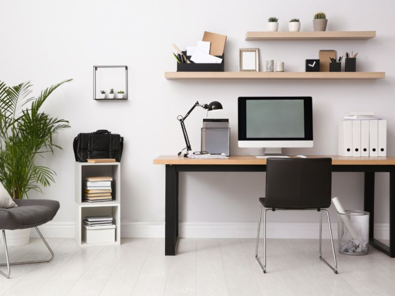 7 Home Office Organization Tips To Make It More Functional In 2021 Home Office Design Home Office Space Small Home Office