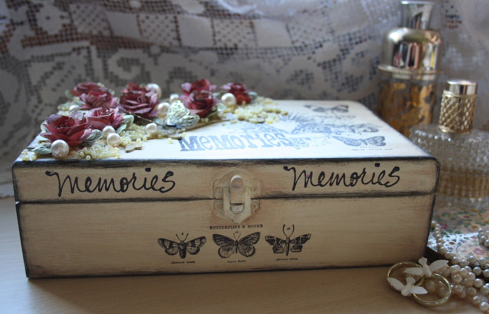 The gift of a Memory Box is a wonderful way to store precious ...