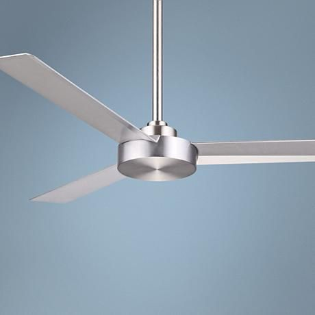 52 Minka Aire Roto Brushed Aluminum Ceiling Fan 6h282 Lamps Plus Ceiling Fans Without Lights Ceiling Fan Fan Lamp