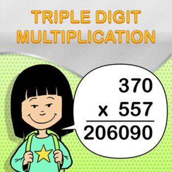 Triple Digit Multiplication Worksheet Maker - Create Infinite Math ...