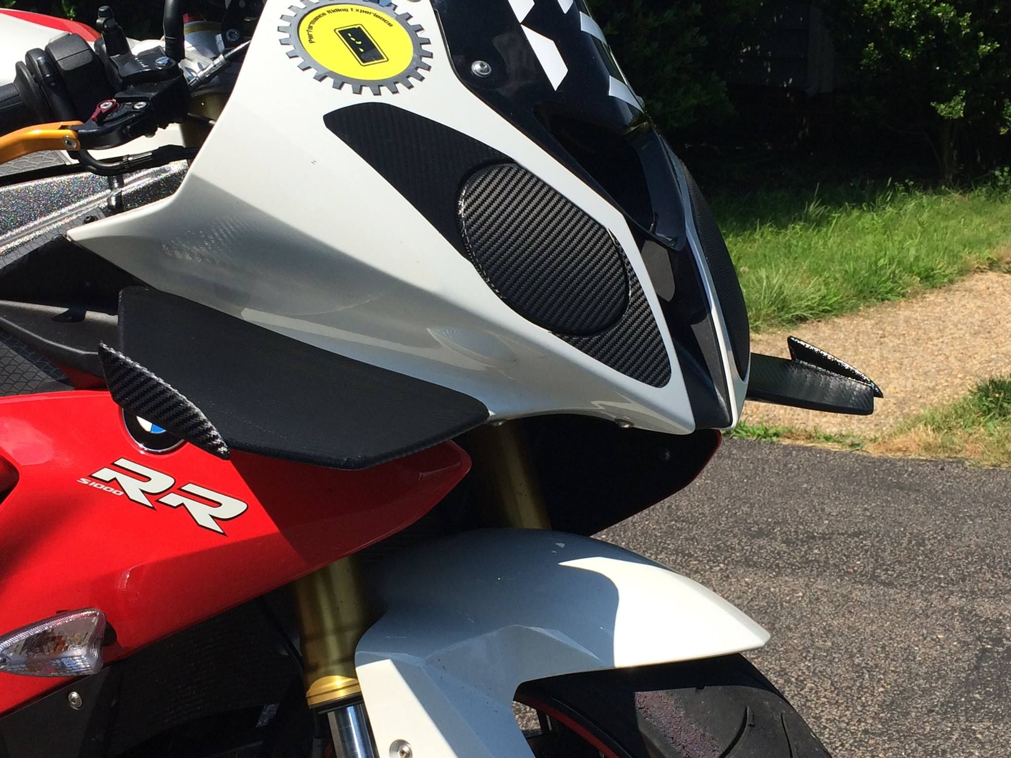 Winglets For A 2011 Bmw S1000rr Designed By Singh Innovative