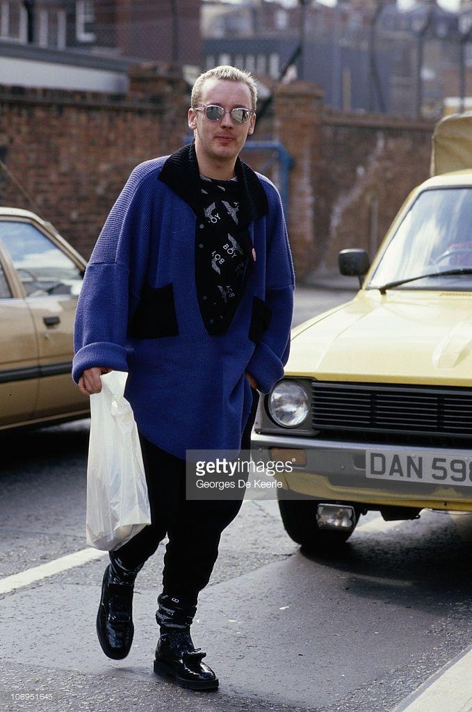 English pop singer Boy George in Camden, London, March 1987.