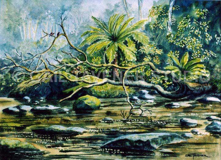 Forest-Stream-gail-tavener.jpg (720×523)