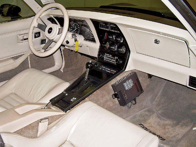 1979 Corvette L 82 Interior View Alpine Stereo System Corvette Vette Chevrolet Corvette