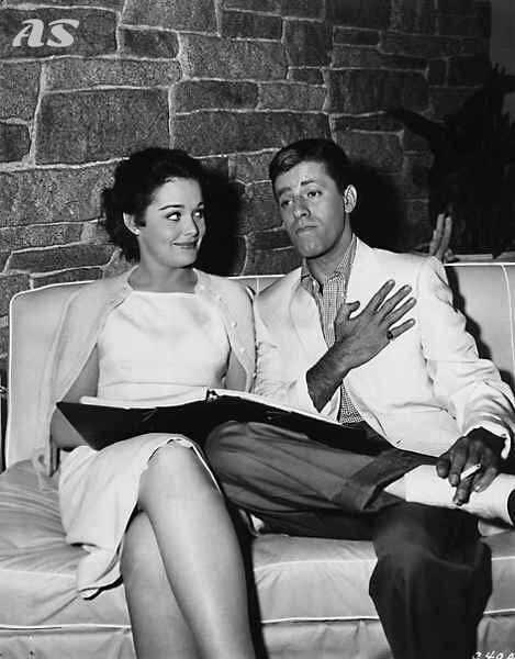 Jerry Lewis and some lady