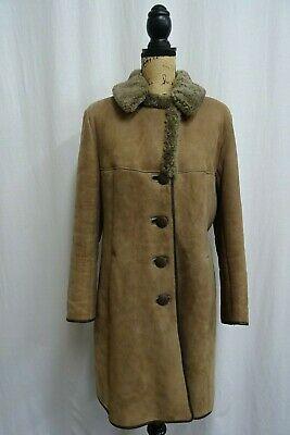 Women's D.T.Bayliss & Son Ltd Brown Sheepskin Winter Coat Size 14 Dry Cleaned  #fashion #clothing #shoes #accessories #women #womensclothing (ebay link)