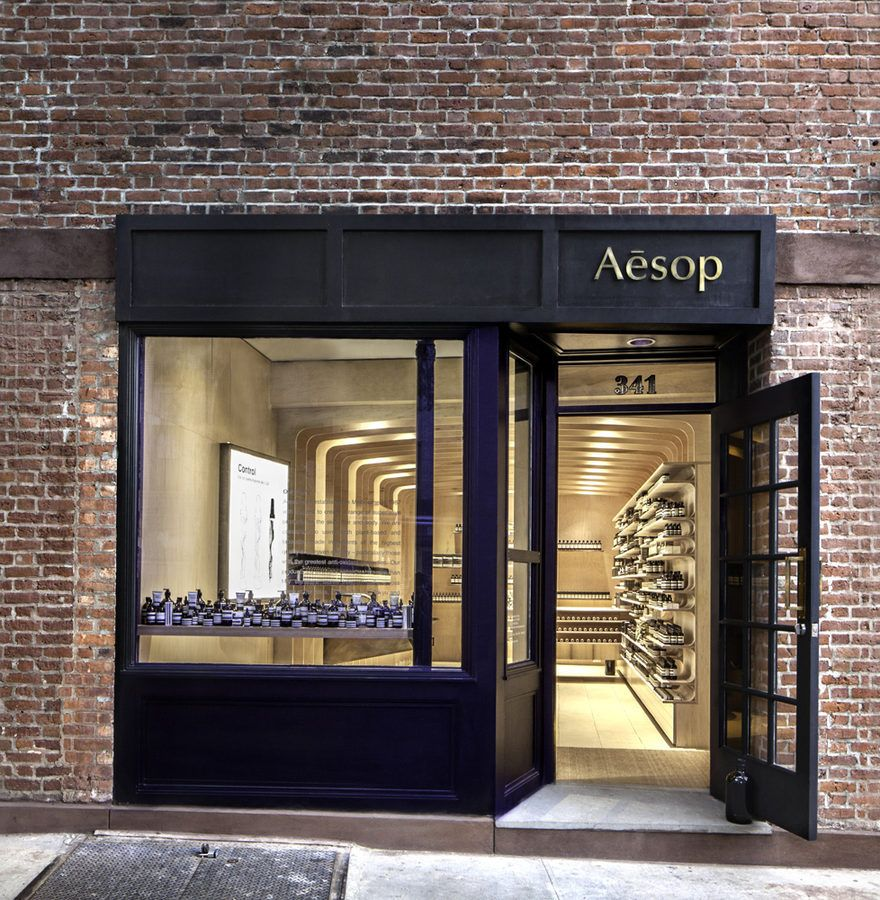Aesop's Latest Beauty Lab on Bleecker Street -  NY