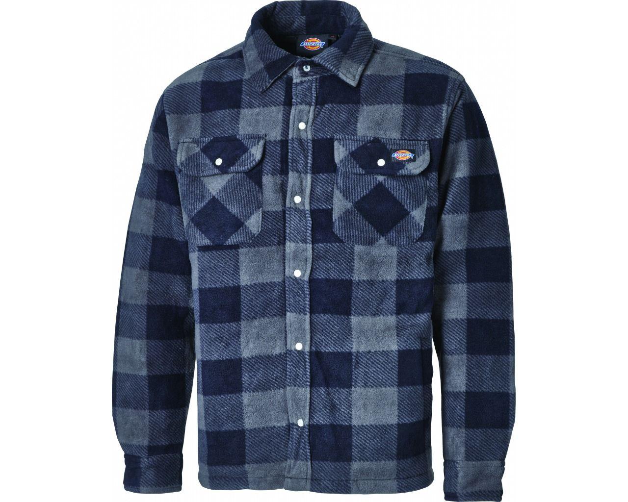 Dickies Portland Shirt - Blue Check