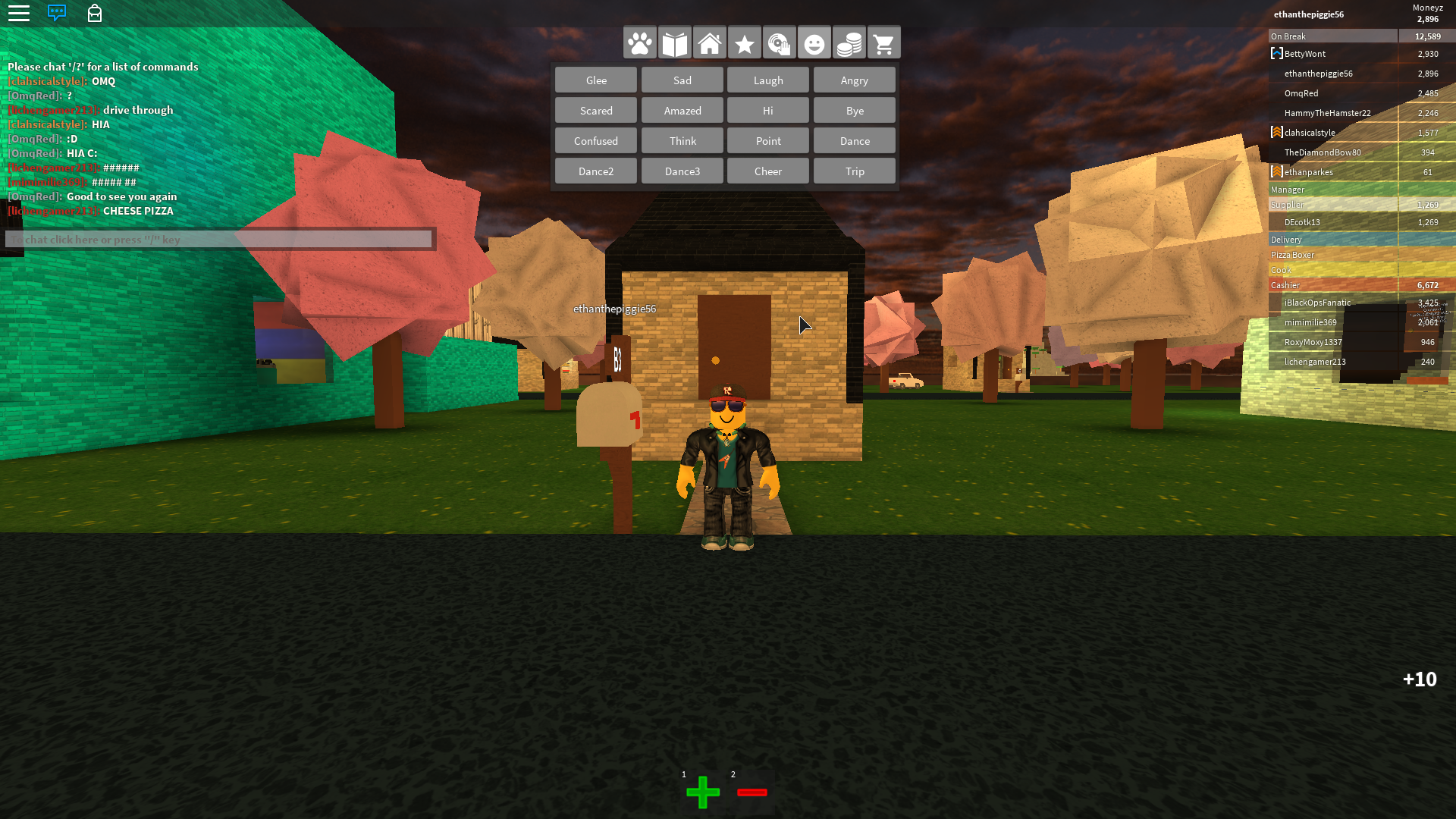 Roblox Work At A Pizza Place Places Pizza Games