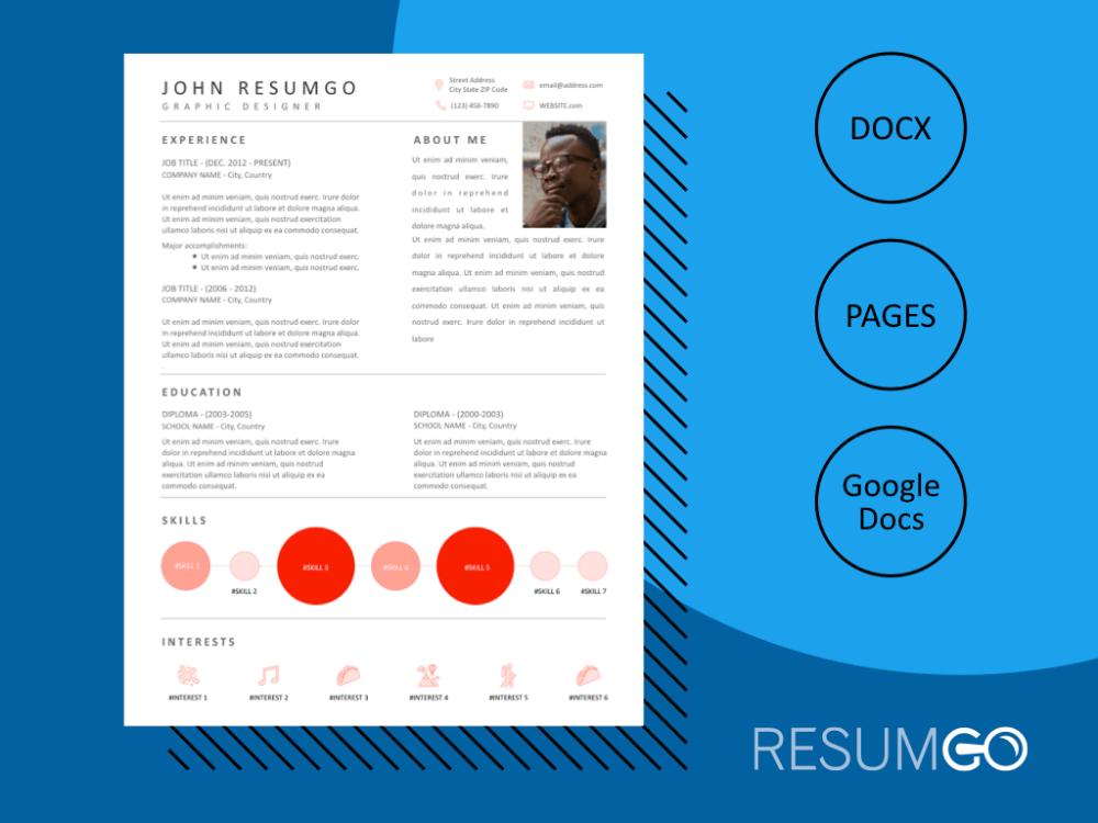 Oedipus Smart Modern Resume Template Resumgo Com Resume Template Modern Resume Template Modern Resume