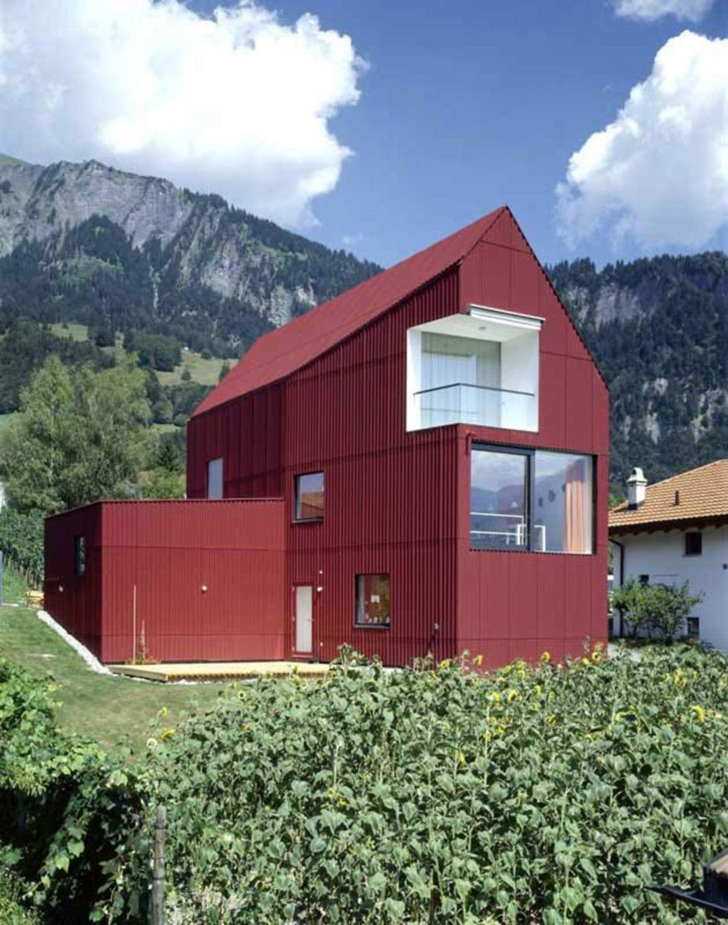 Bearth & Deplazes Architekten, Ralph Feiner · Haus Walther In Malans ...