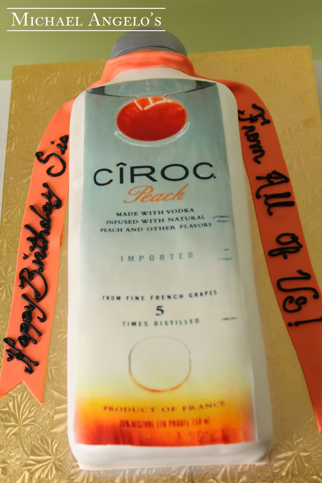 Ciroc Peach 18food Ciroc Peach Vodka Is The Focal Point Of This
