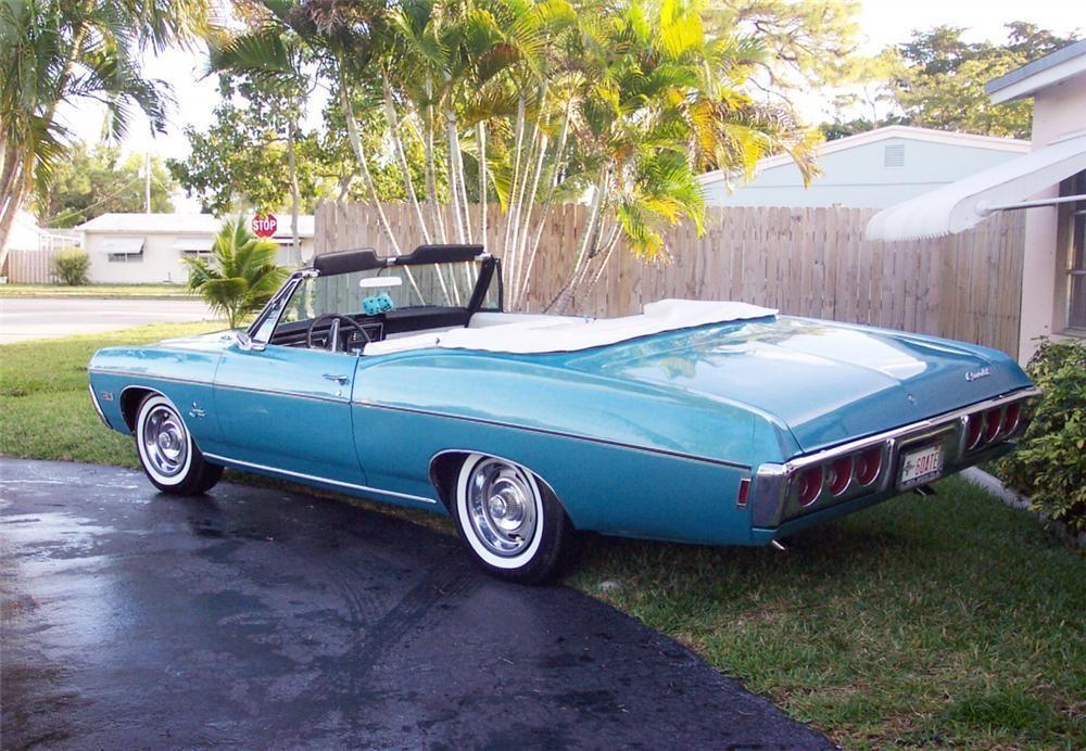 1968 Impala 2 Door Did Over 100 Miles Per Hour Chevrolet Impala 1968 Chevy Impala Chevy Impala