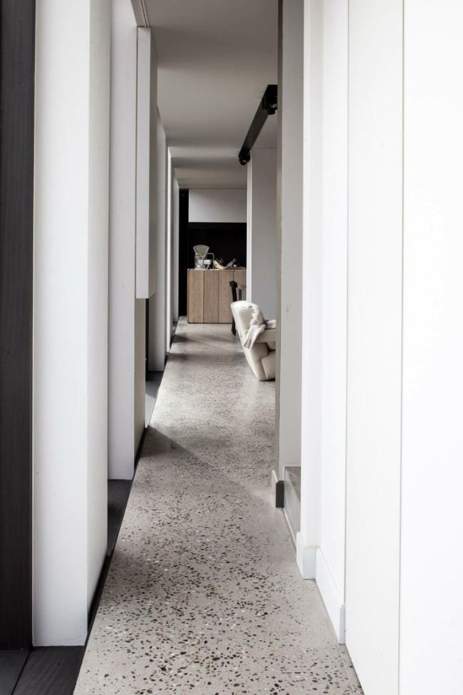 modern take on terrazzo flooring corners pinterest innenarchitektur. Black Bedroom Furniture Sets. Home Design Ideas