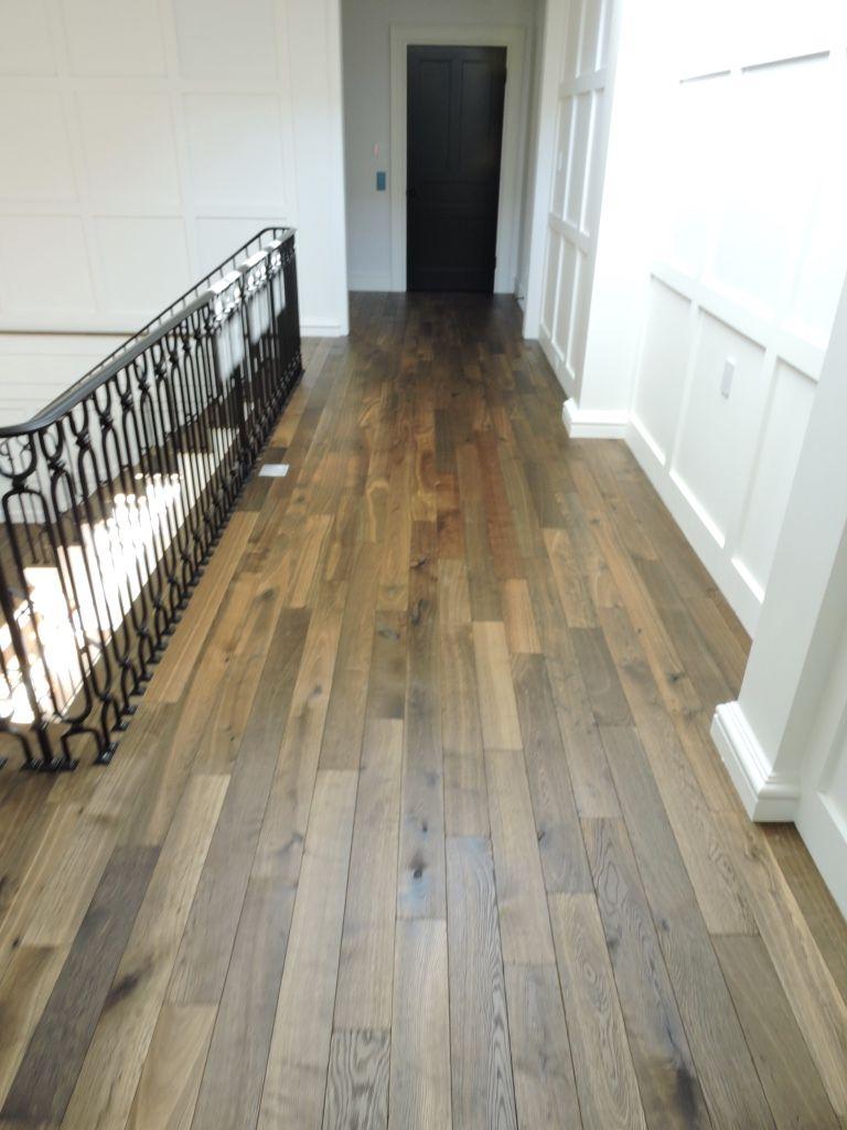 Custom Hardwood Floor Install: Denver, Colorado