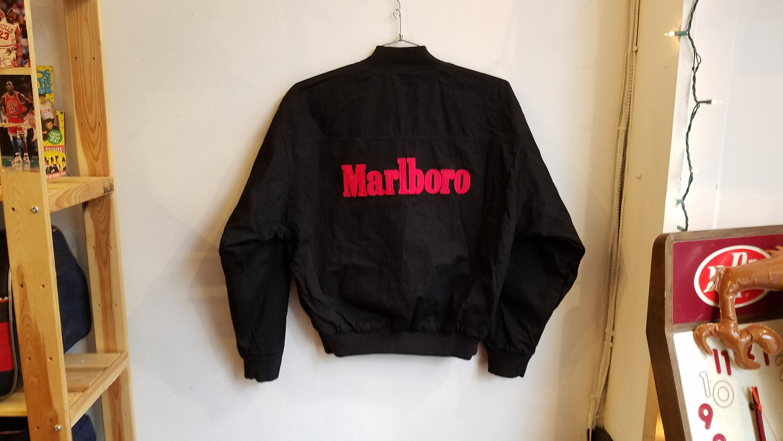 Vintage Unisex 90 S Marlboro Reversible Jacket By Radotr On Etsy Unisex Jacket Reversible Jackets Vintage Outfits