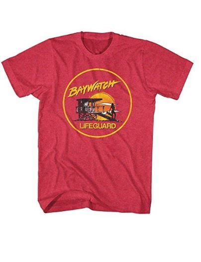 Retro Baywatch Tee! Order yours here ➩➩      http://amzn.to/2px1oQp