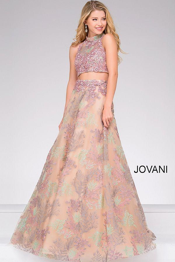Vestidos rosas modernos para quinceañera Jovani | Moda elegante ...