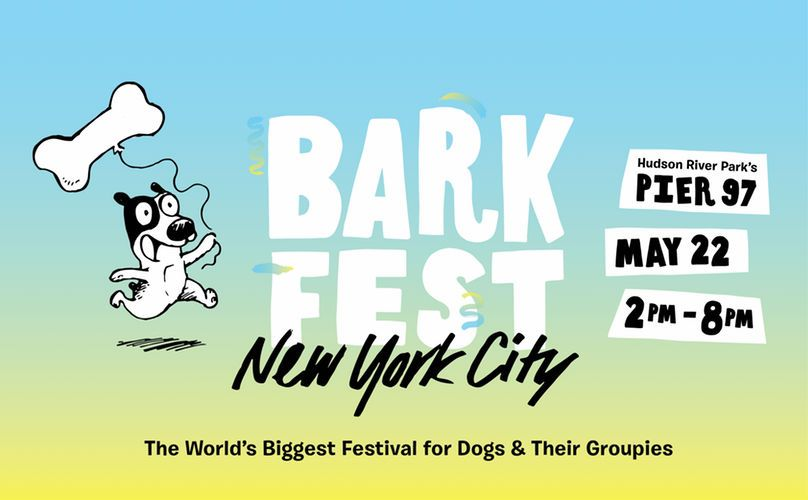 Head to New York with your dog for Barkfest!