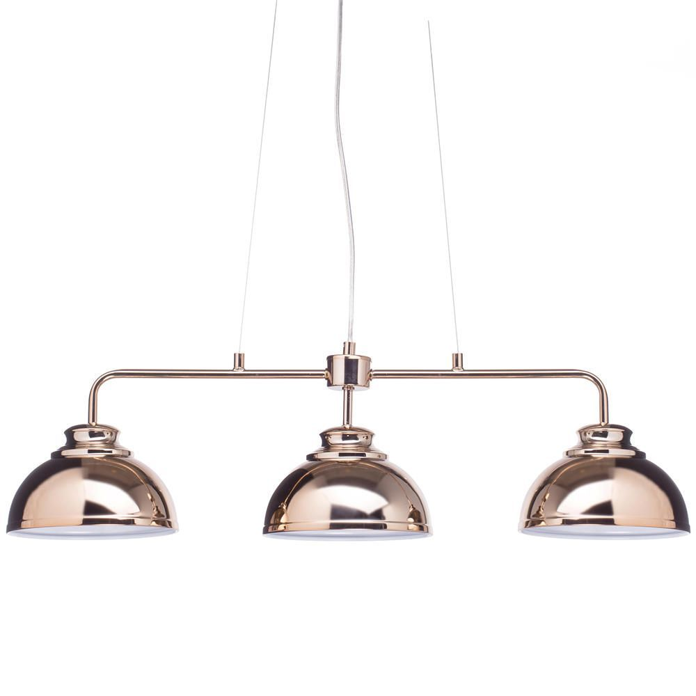 Shop the brooklyn 3 light industrial ceiling pendant bar rose gold brooklyn 3 light industrial ceiling pendant bar rose gold from litecraft aloadofball Gallery