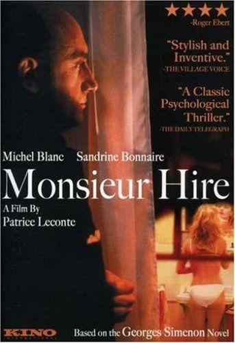 Monsieur Hire Sandrine Bonnaire Michel Blanc French Movies