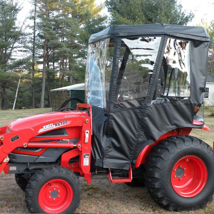 Cab Enclosure for Kioti Tractors - Requires Fiberglass Canopy (Canopy Kit Option Available) & Cab Enclosure for Kioti Tractors - Requires Fiberglass Canopy ...