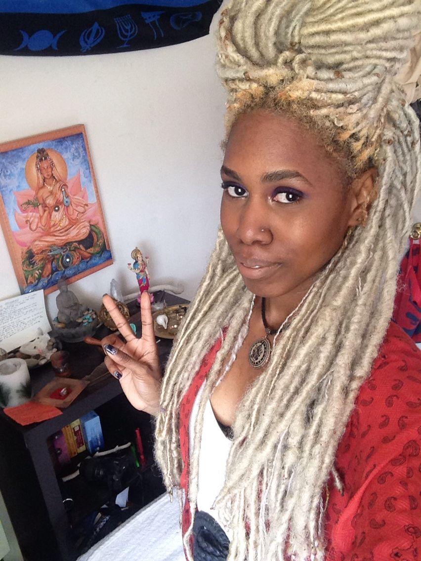Blonde Faux Locs | Loc Me In | Pinterest | Faux locs, Locs and Blondes