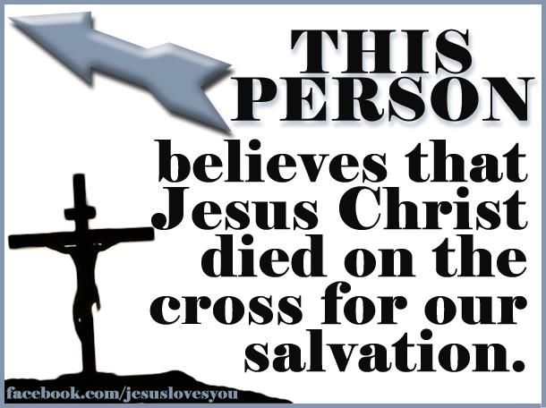 "John 3:16, ""For God so loved the world, that he gave his only Son, that whoever believes in him should not perish but have eternal life."""